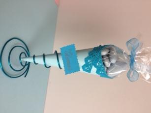 cornet bleu