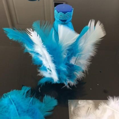marionnette plumes