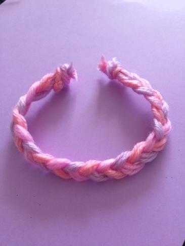 bracelet laine ter