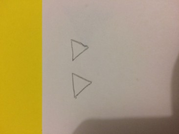 triangle blanc
