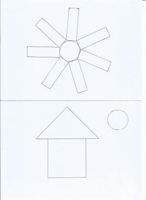 modèle soleil et maison