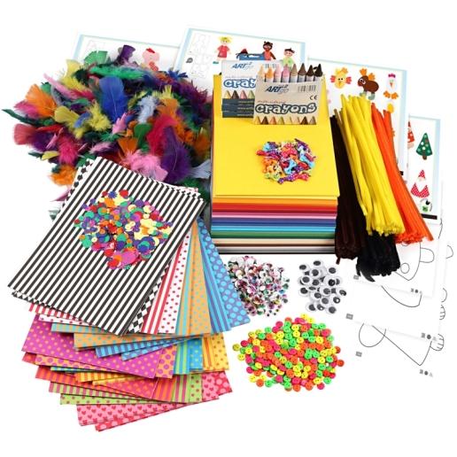 kit-activite-manuelles-enfants-plus-de-900-pcs-l