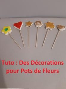 décorations pots de fleurs titre