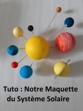 maquette systeme solaire titre